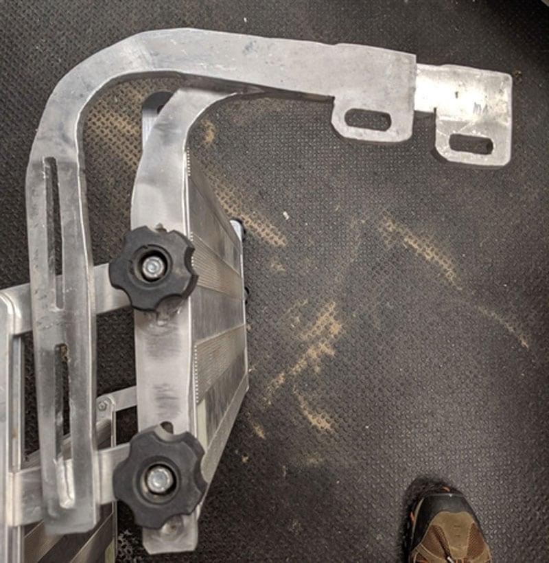 Glowstep Mounting Brackets Metal