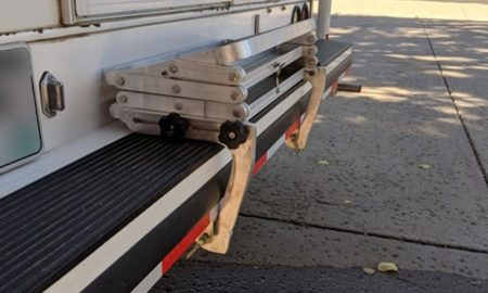Glowstep Mounting Brackets Travel Position