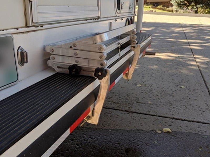 Custom GlowStep Mounting Brackets - Truck Camper Magazine