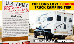 Long Lost Florida Truck Camping Trip
