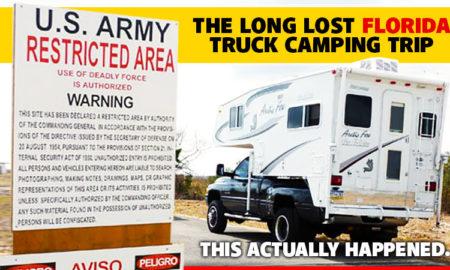 Long Lost Florida Truck Camping Trip