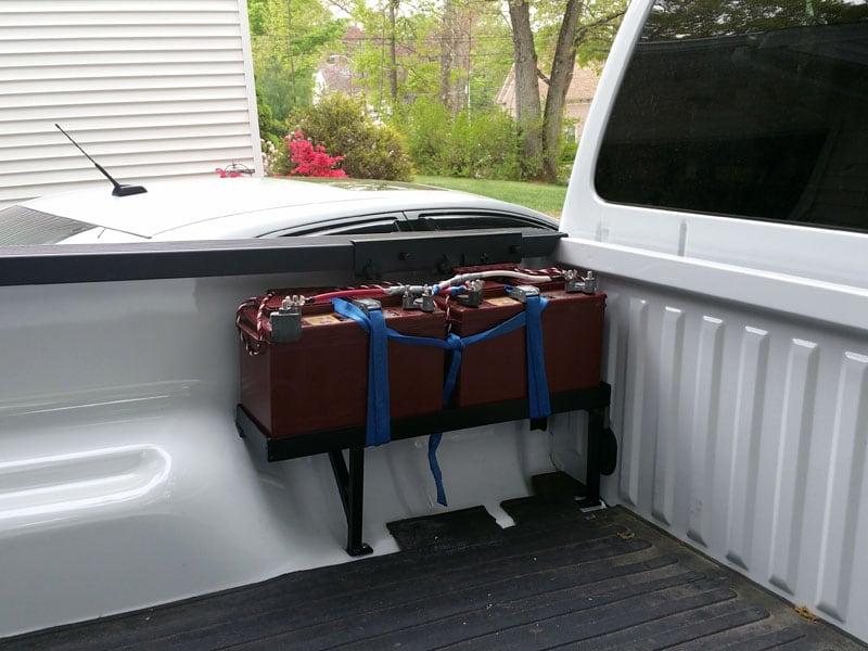 Wheel Well Area Battery Tray 2