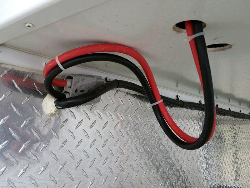 Wheel Well Area Battery Tray 5