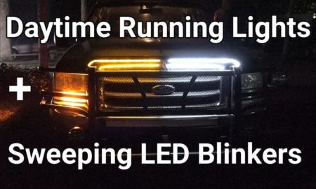 Daytime Running Lights And Sweeping LED Blinkers