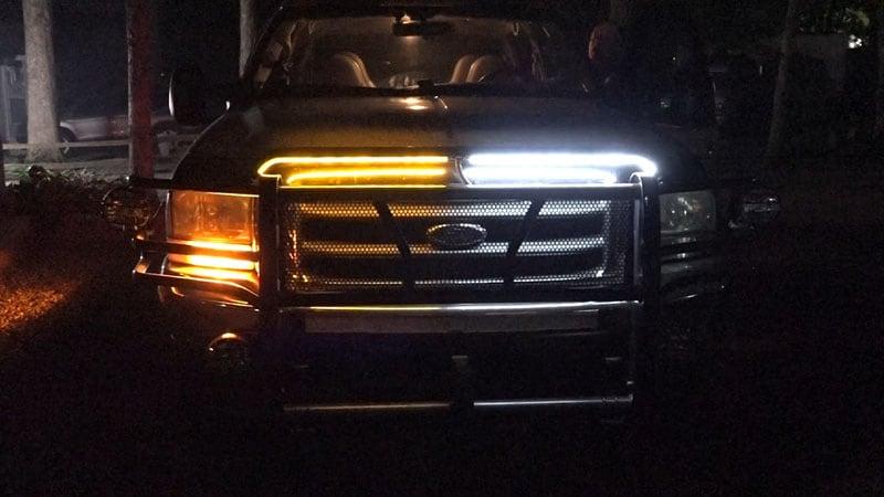 Daytime Running Lights Ford Truck