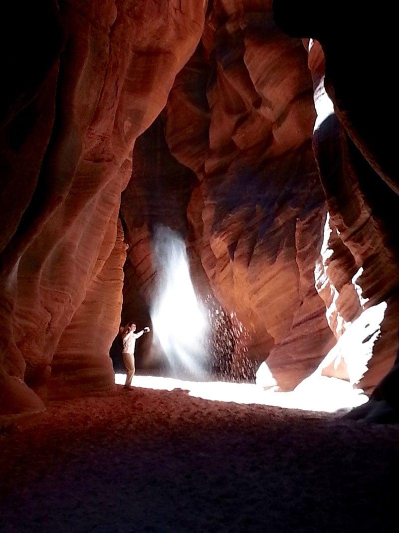 Sunlight Buckskin Gulch Utah
