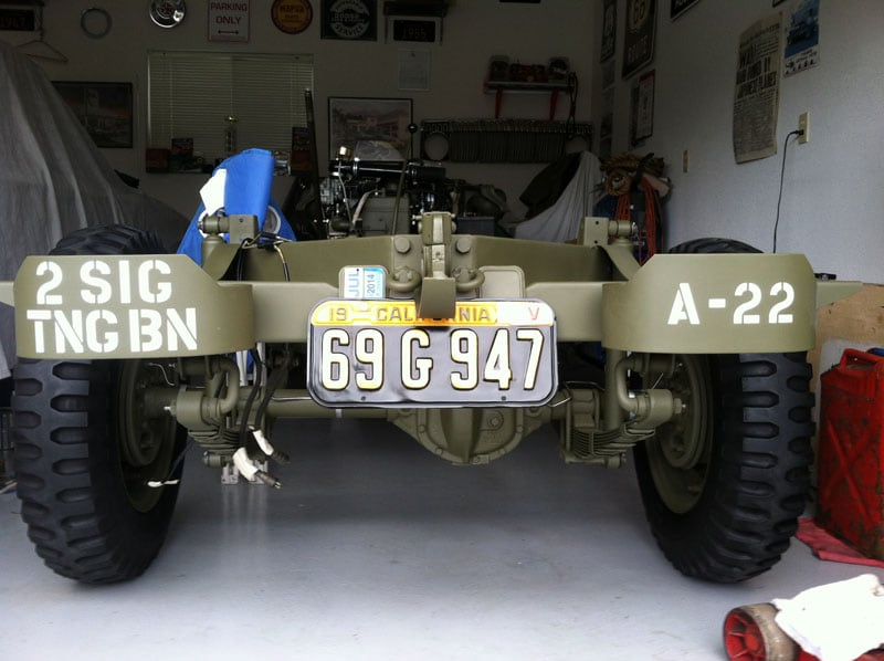 1943 Willys Jeep Restoration