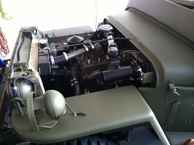 1943 Willys Jeep Engine