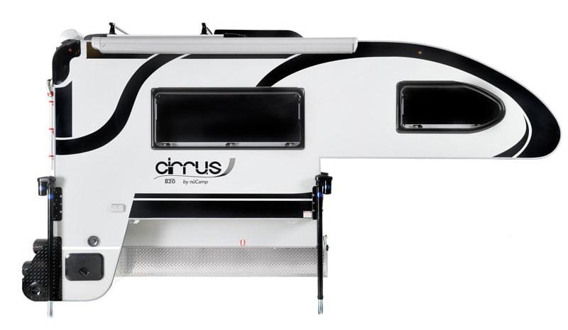 2021 Cirrus 820 Black Passengers Side