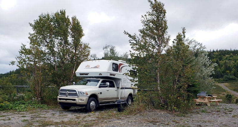 Appalachian RV Park In Corner Brook Newfoundland