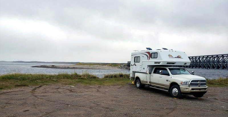 Boondocking The Gut Inlet Newfoundland
