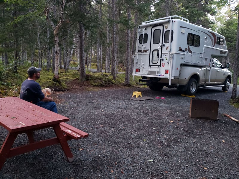 Camping At Terra Nova National Park Newfoundland