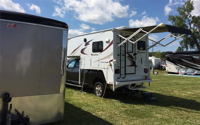 Dry Camping At The Oshkosh Fly In, Wisconsin