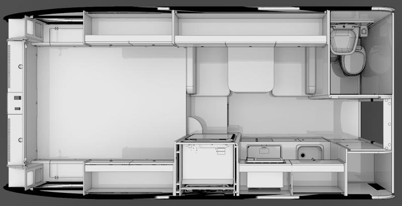 Cirrus 820 Floorplan 2021