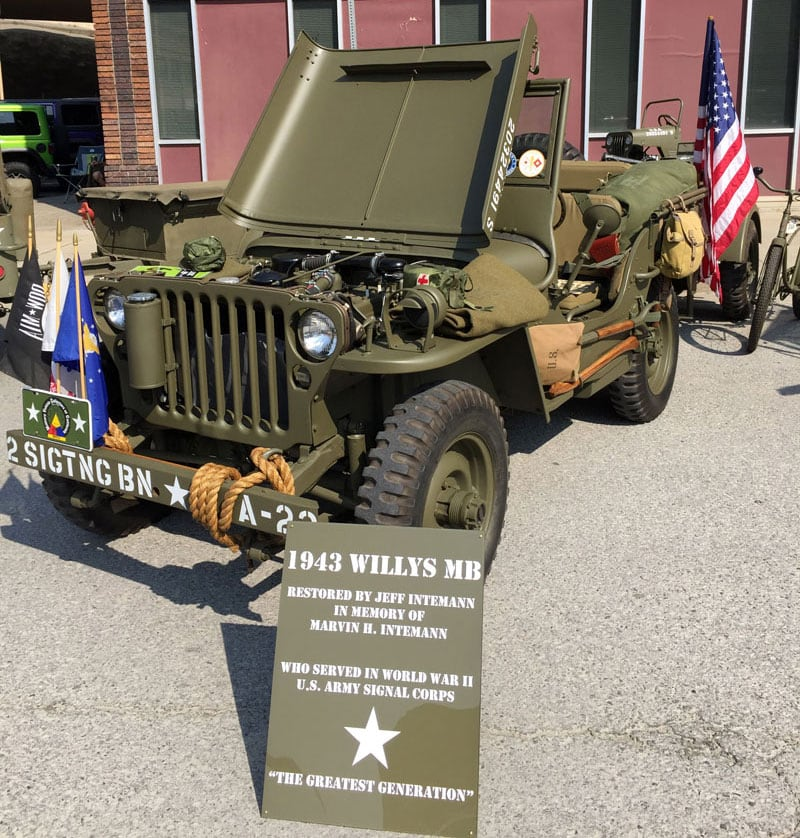 Jeep Meet In Wallace Idaho