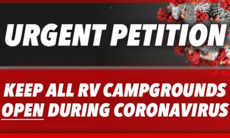 Keep Campgrounds Open During Coronavirus