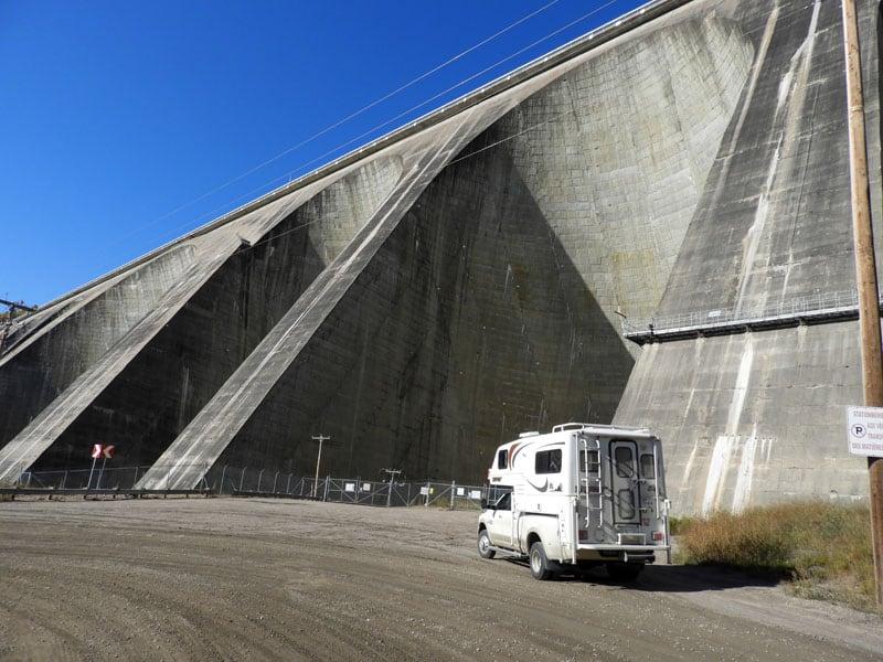 Manic 5 hydroelectric dam