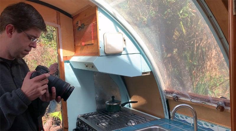 Odyssey Camper Kitchen Filming