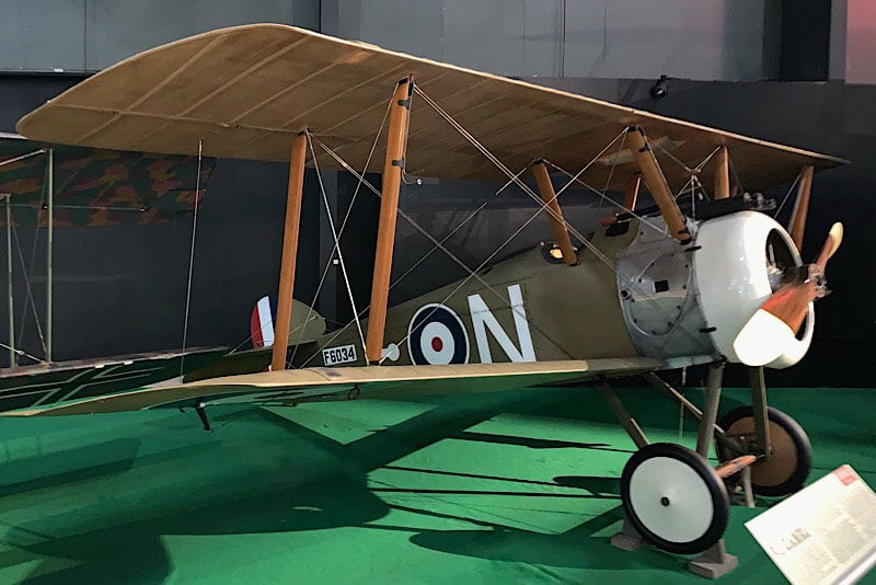 Peashooter And Sopwith Camel Planes