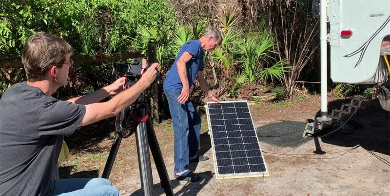 Odyssey Camper Portable Solar