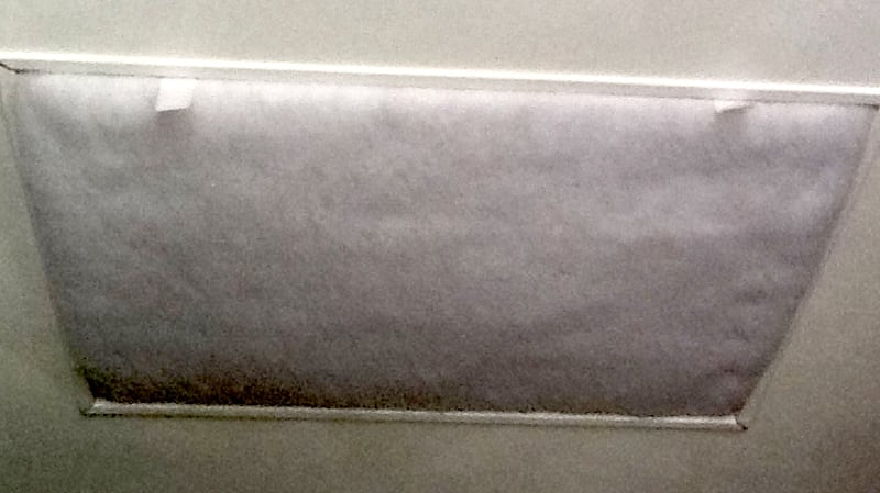 RV Styrofoam Window Insulators