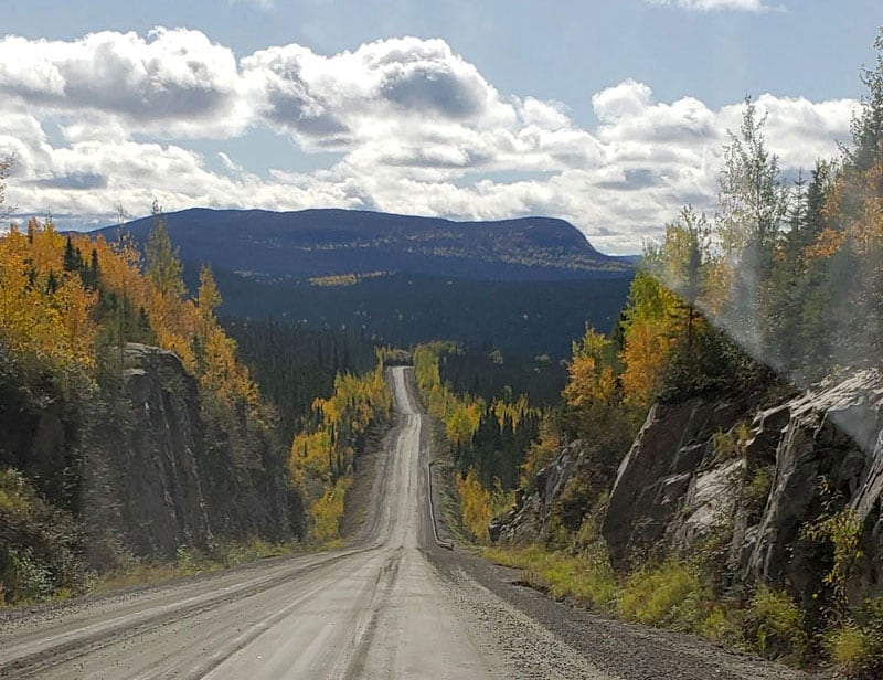 Traveling The Quebec Highway 389