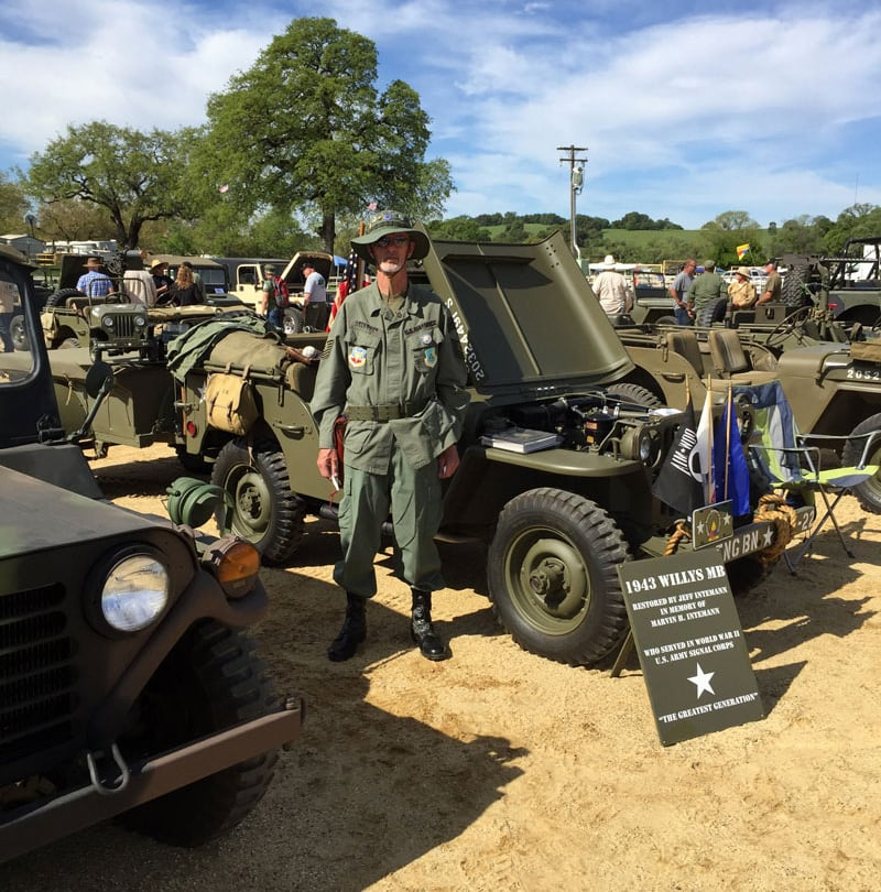Local Military Vehicle CC Meet In Plymouth California
