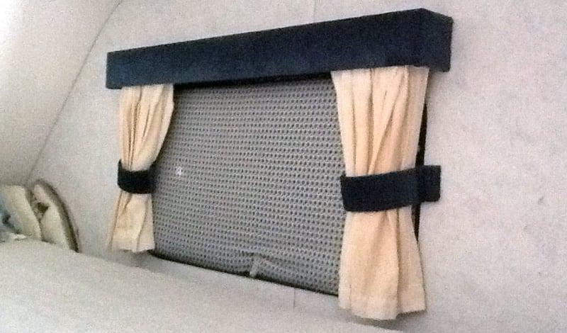 Styrofoam Window Insulators Camper