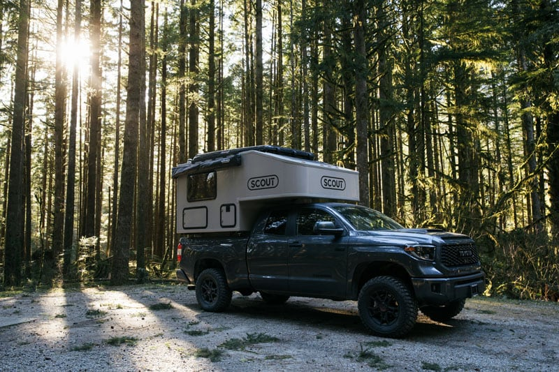 2020 Scout Olympic Camper Toyota