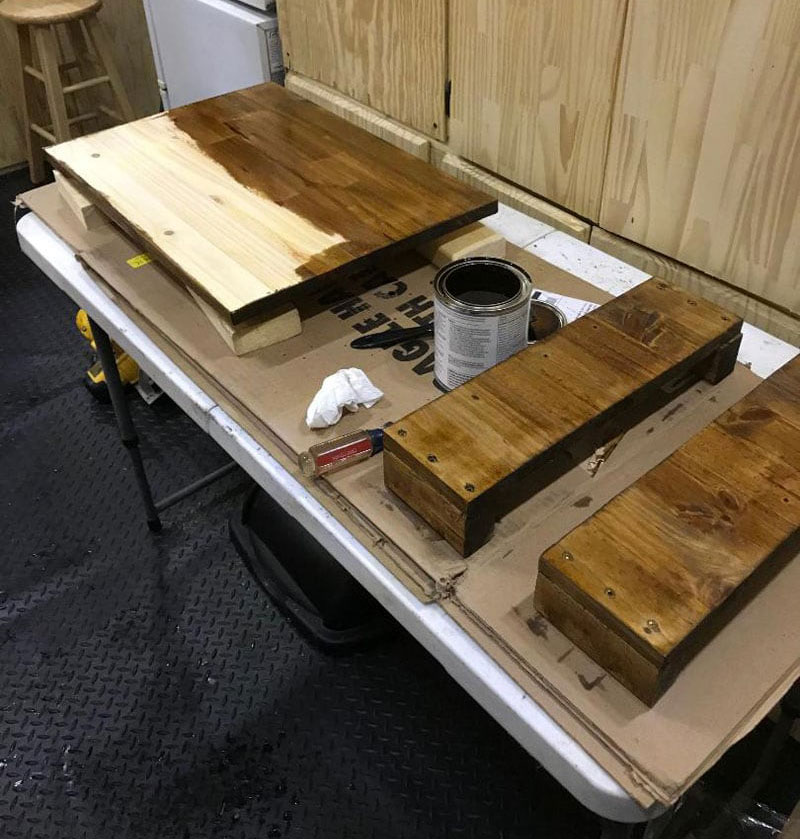 Construction Of Griddle Box