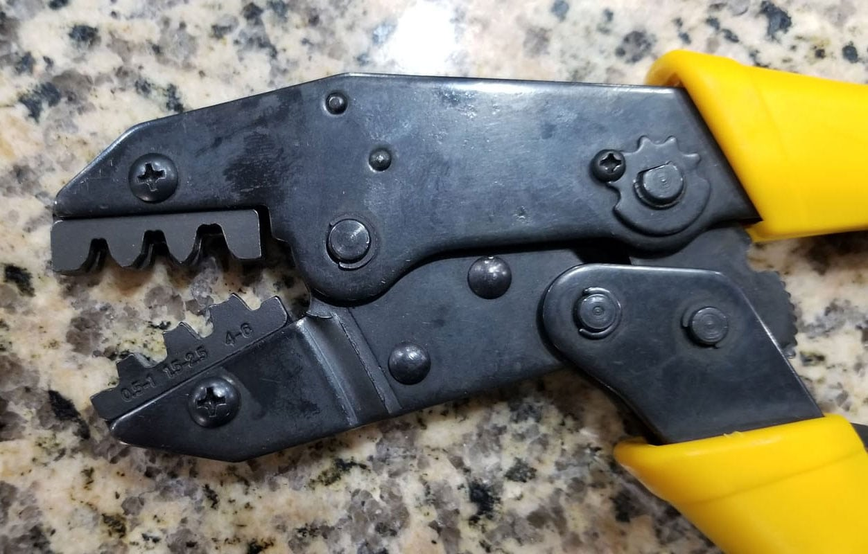 Correct Crimping Tool For M4 Pins