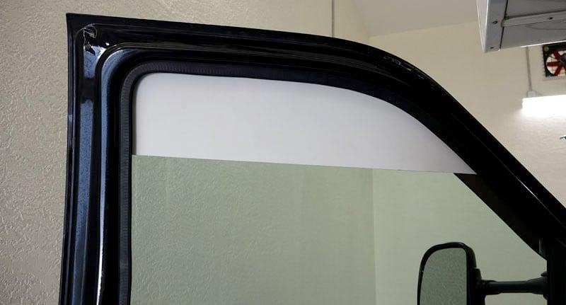 Easy Truck Door Shade Blocks Sun Driving
