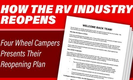 Four Wheel Campers Coronavirus ReOpening Plan