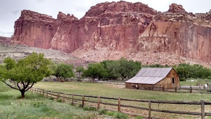 Fruita Campground Barn