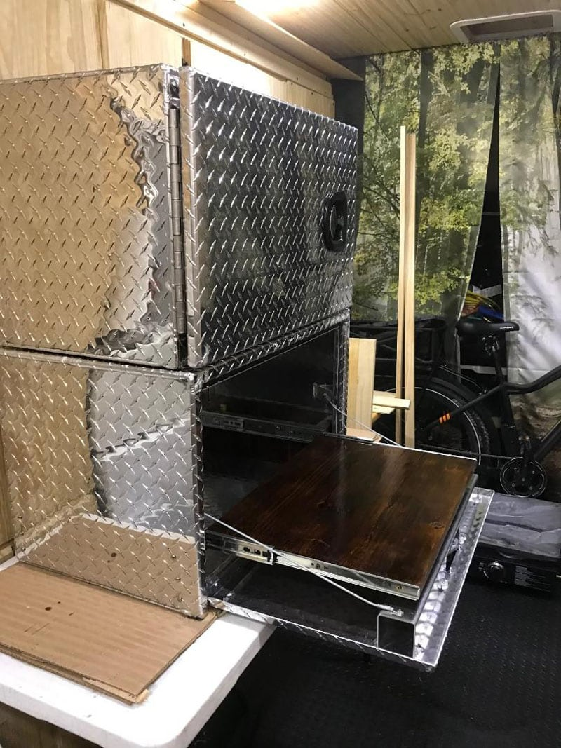 Griddle Box For Campers