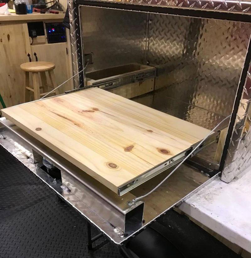 Lance Camper Griddle Box