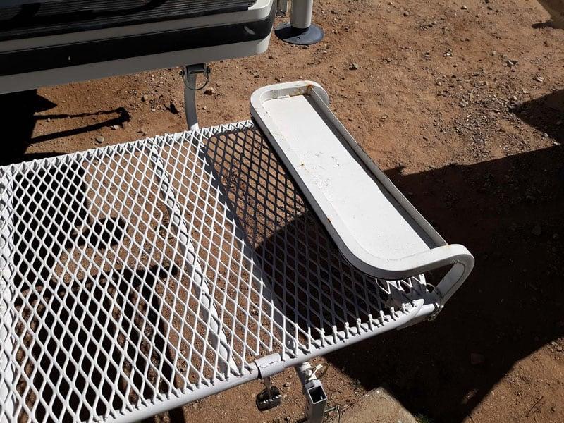 Lance Camper Mini Deck Platform Entering Camper
