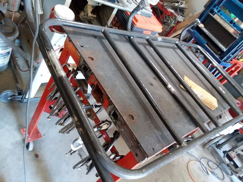 Platform For Rear Camper