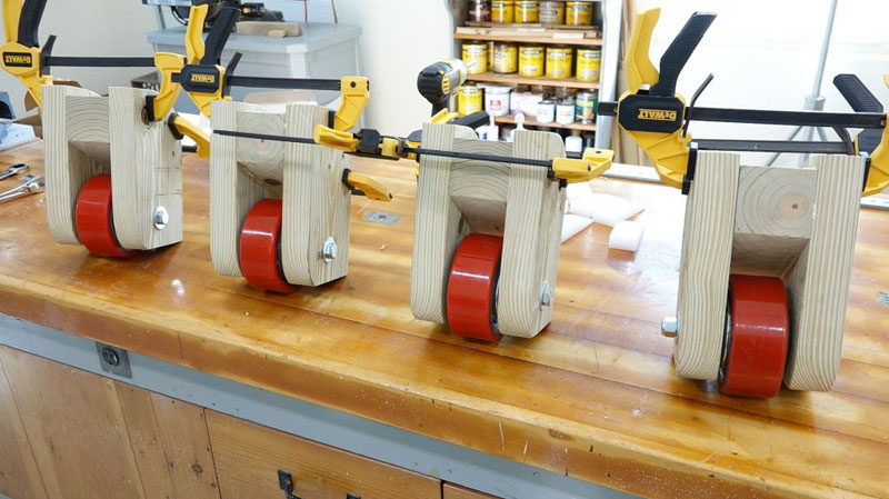 Roller Centering Device Rollers