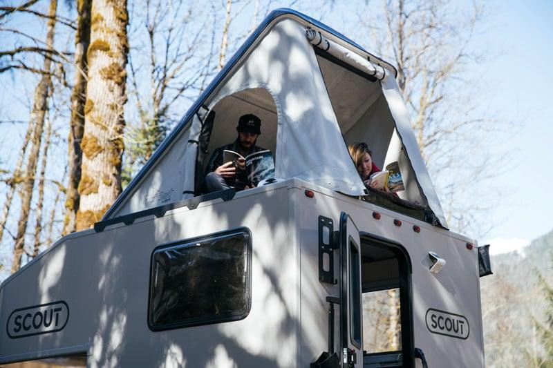 Roost Rooftop Pop Up Tent