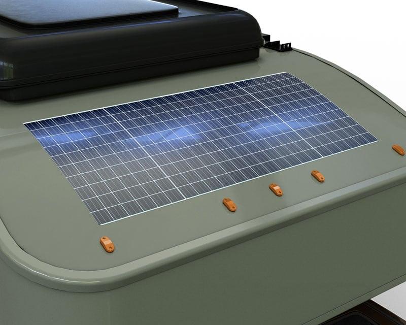 Scout Camper 160 Watt Monocrystalline Solar Panel