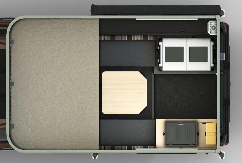 Scout Camper Floor Plan