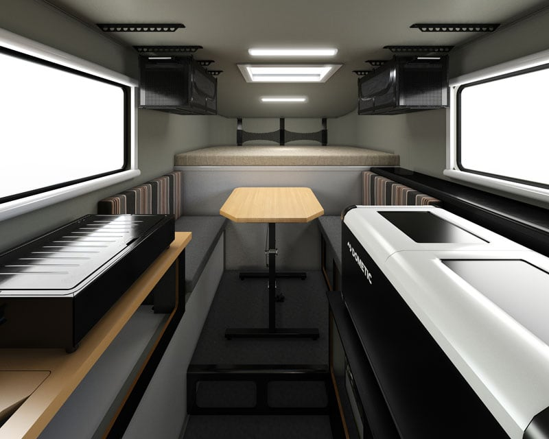 Scout Camper Interior Front To Back