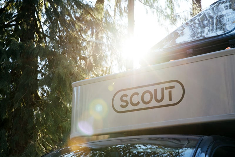 Scout Olympic Camper Logo