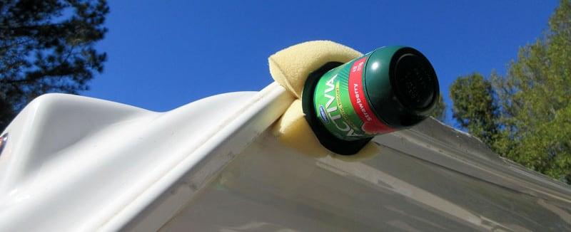 Storage Cover Rain Spout Activia Yogurt Protection