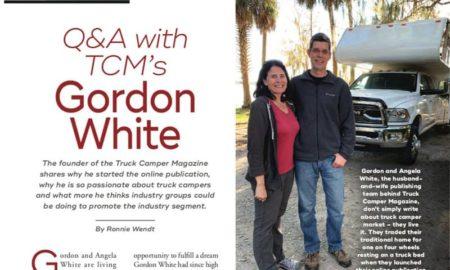 Truck Camper Magazine Gordon White In RV Pro