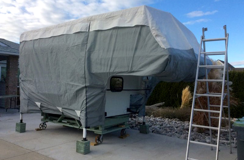 Truck Camper Protective Winter Cover
