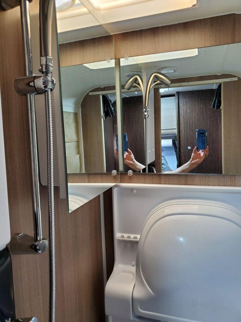Medicine Cabinet Mirror Front
