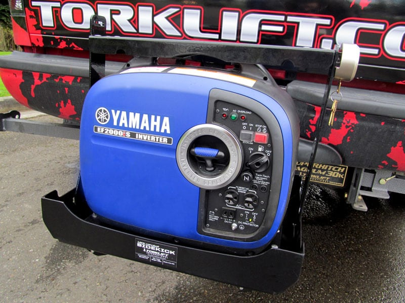 Torklift SideKick On Front Hitch