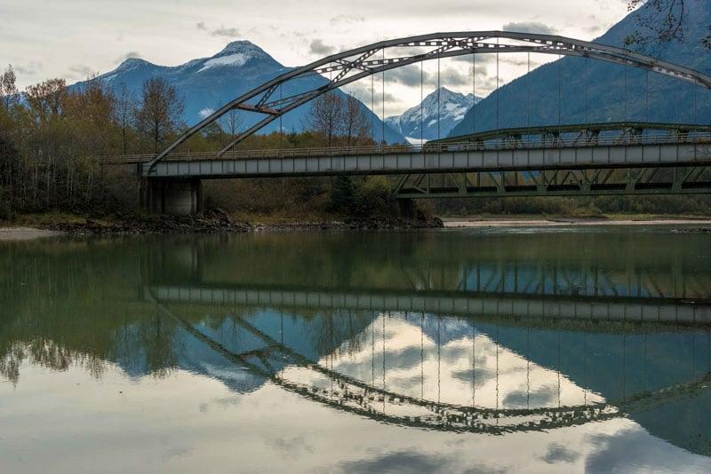 Bridge In The Yukon